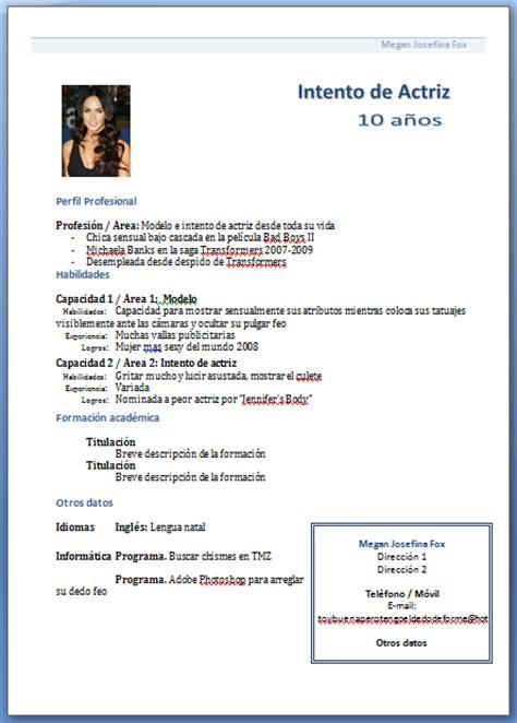 Plantilla De Un Curriculum Funcional Como Hacer Un Curriculum Vitae Como Hacer Un Curriculum Funcional