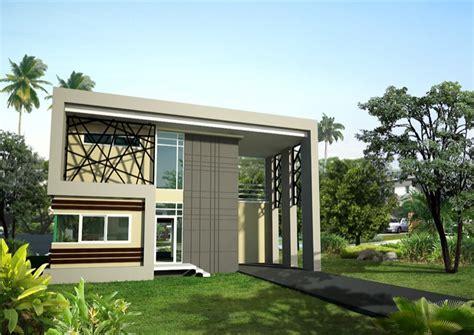 6 bedroom 2 storey house modern style chayapriak 1 modern style two storey two bedroom home concept nkd