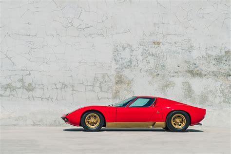 Miura S Lamborghini by 1972 Lamborghini Miura Sv