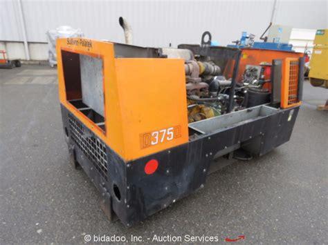 sullivan palatek d375qh7jd 375 cfm air compressor skid diesel parts repair ebay