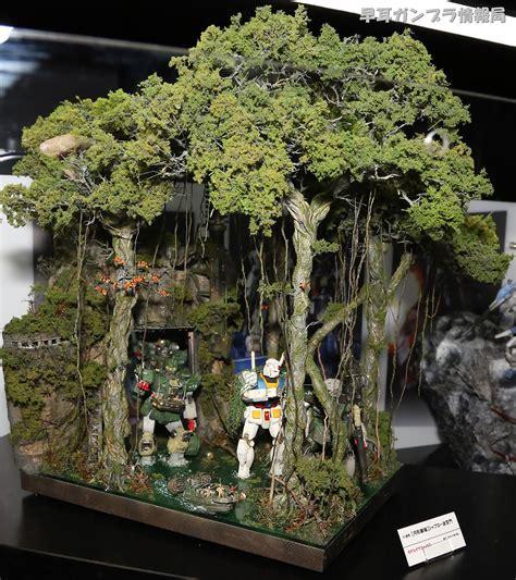 Jual Rak Display Gundam diorama modelkit mania