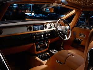 Interior Of A Rolls Royce Cars