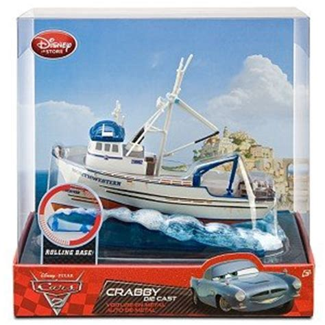 toy boat store disney pixar quot cars 2 quot exclusive crabby boat die cast