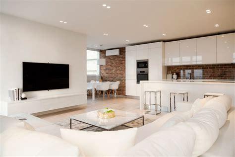 klinkerwand wohnzimmer einladendes wohnzimmer in wei 223 einrichten 80 tolle ideen