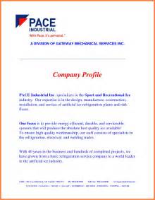 simple business profile template construction company profile template website resume