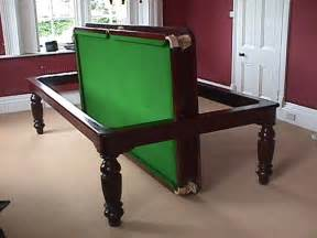 Dining Table Snooker Table Snooker Dining Table Diners Pool Dining Tables Est 1910