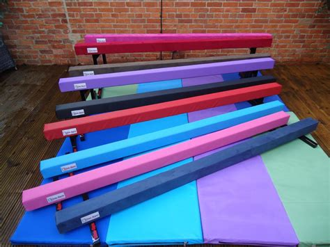 8ft 2 4mtr 6 high gymnastic balance beam new colours