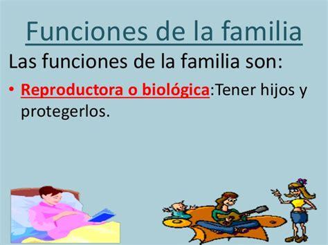 Imagenes De La Familia Biologica | funciones de la familia