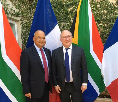 Of South Africa Mba by Visit Of Michel Sapin Minister Of Economy And Finance To
