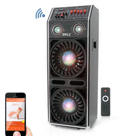 pylepro psufm1072bt home and office pa loudspeakers cabinet speakers sound and