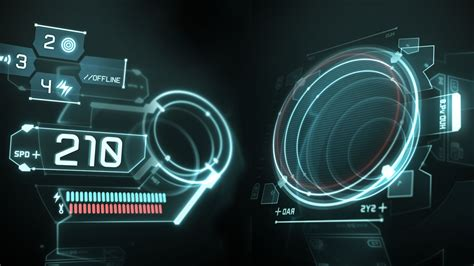 Hud Search Futuristic Hud Wallpaper