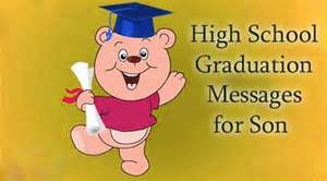 high school graduation messages for