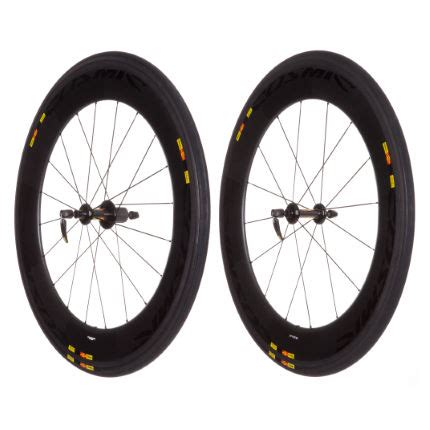 mavic deep section wheels wiggle mavic cosmic cxr80 tubular wheelset 2013