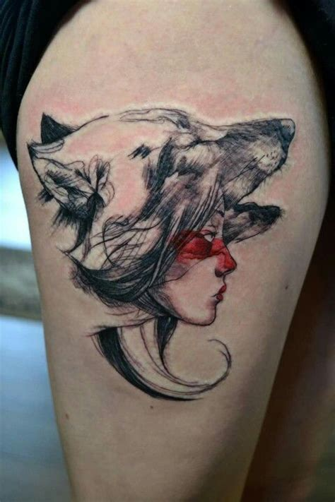 studio ghibli tattoo best 25 princess mononoke ideas on