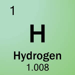Hydrogen On The Periodic Table by Element 1 Hydrogen Science Notes And Projects