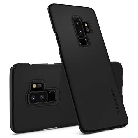 Spigen Galaxy S9 Plus Thin Fit Black Sf Original spigen thin fit samsung galaxy s9 plus black