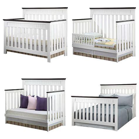 Delta White Chocolate Chalet Crib by Delta Children Chalet 4 In 1 Convertible Lifetime Crib