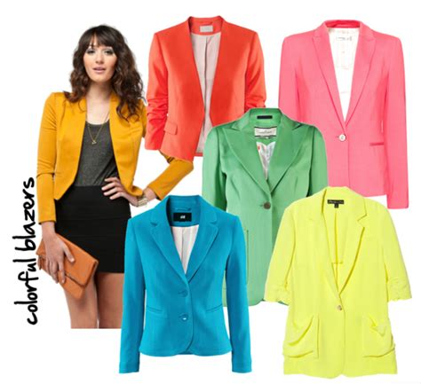 colored blazers colorful blazers fashion ql