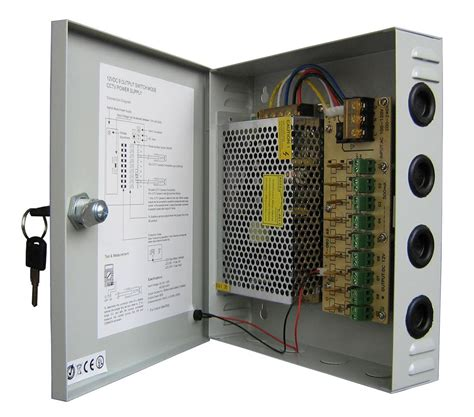 Power Supply 12v 20el Cctv cctv power supply box 10a
