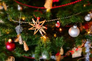 close up of christmas decoration hanging on tree 183 free