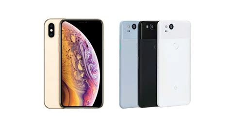 pixel 2 vs iphone xs the big two go to expert reviews