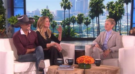 tim mcgraw ellen tim mcgraw and faith hill play never have i ever on the