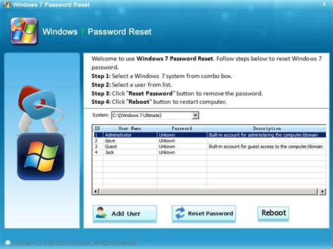 software reset admin password windows 7 administrator downloads and reviews