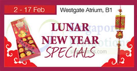 isetan new year isetan lunar new year specials westgate 2 17 feb 2015