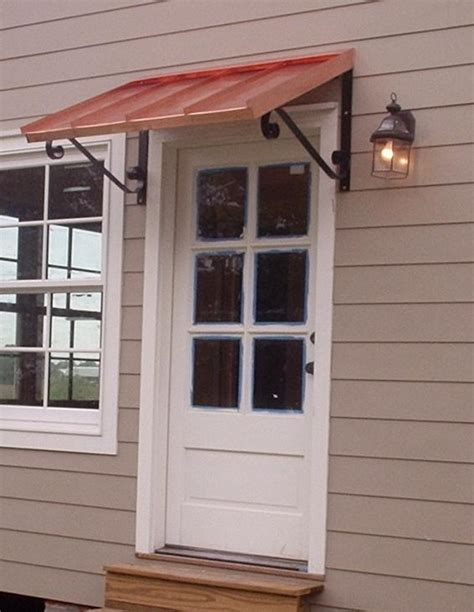 awnings door the classic gallery copper awnings projects gallery