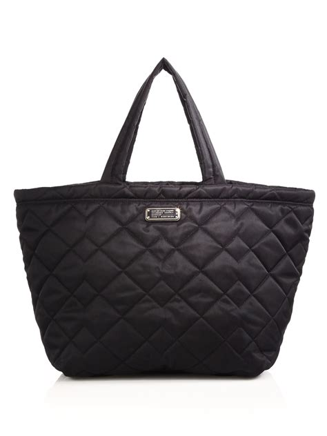 Marc Large Quilted Tote by Marc By Marc Crosby Quilted Tote In Black Lyst