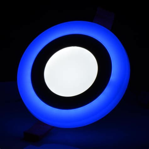 Blue Led Ceiling Lights 5w 9w Led Recessed Ceiling Light Panel Home Office L Blue White Ebay