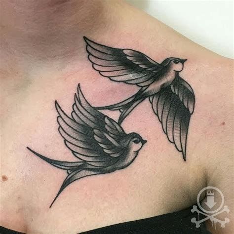 black and white swallow tattoo designs best 10 traditional style ideas on