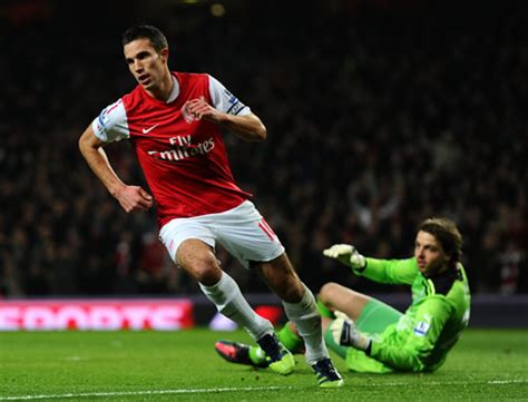 arsenal ronaldo 7 ray parlour ranks robin van persie as good as messi and
