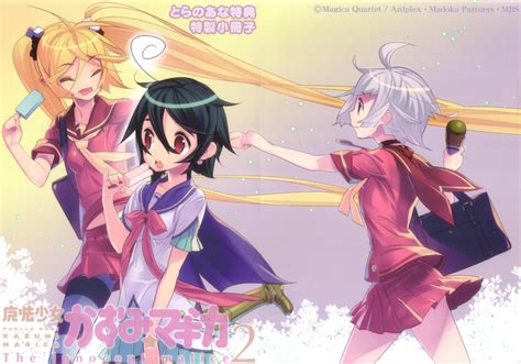 Kazumi Magica No5 anri airi asuka yuuri and kazumi mahou shoujo kazumi