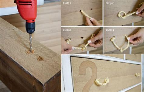 12 idées de DIY pour customiser les poignées d'un meuble