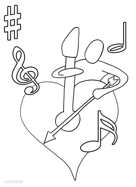Music Note Printable Coloring Pages Free Printable Notes Coloring Pages