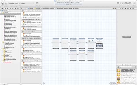xcode tutorial for ios completed the ios 5 and xcode 4 2 checklist tutorial 2