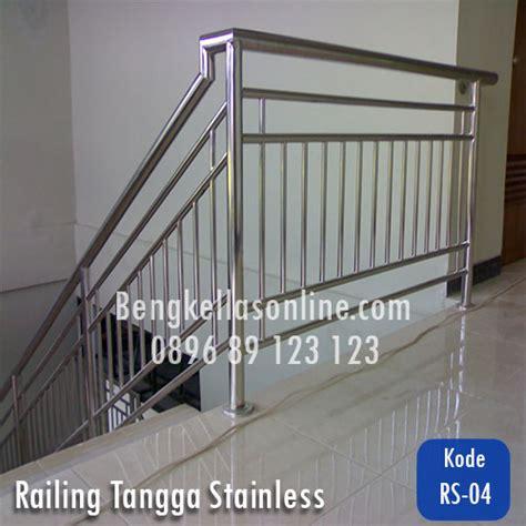 Railing Tangga Pipa Besi Harga Dan Model Railing Tangga Stainless Bengkel Las