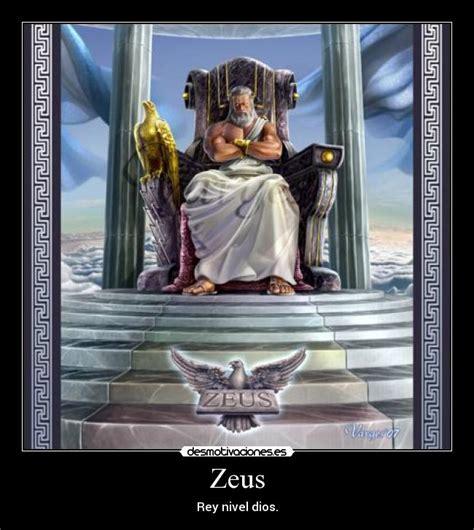 imagenes de dios zeus zeus desmotivaciones