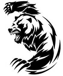 best 25 tribal bear tattoo ideas on pinterest wolf paw