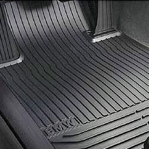 Rubber Floor Mats by Shopbmwusa Bmw All Weather Rubber Floor Mats