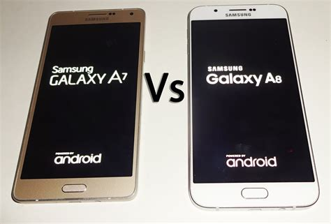 Samsung A8 Vs A7 Samsung Galaxy A8 Vs A7
