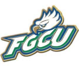 fgcu colors pin up of the week florida gulf coast logo