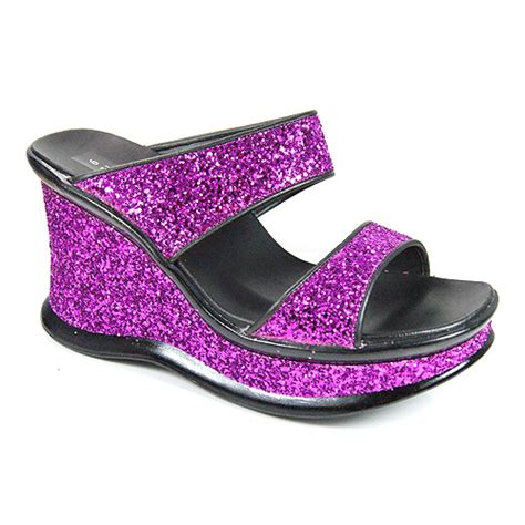 womens designer sandals wedge heel wear