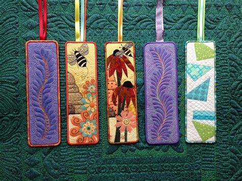 Quilted Bookmarks by Quilted Bookmarks Pinteres