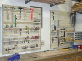 Garage Storage With Pallets Garage Tool Rack Made From Pallets Organizing Ideas