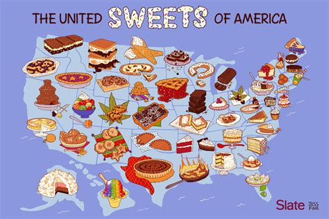 united steaks of america map if each state could have only one deserts of the united states by state