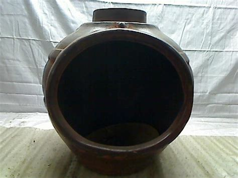 kd clay chiminea with iron stand ebay