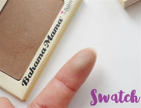 Thebalm Bahama the balm bahama bronzer review swatches dupes