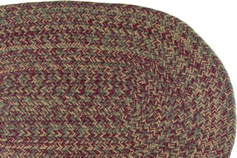 burgundy braided rug merlot burgundy braided rug
